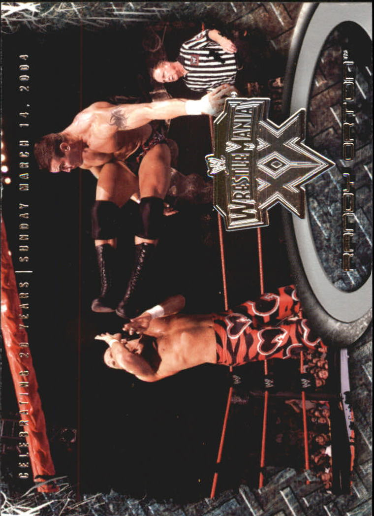 2004 Fleer WWE WrestleMania XX #50 Randy Orton