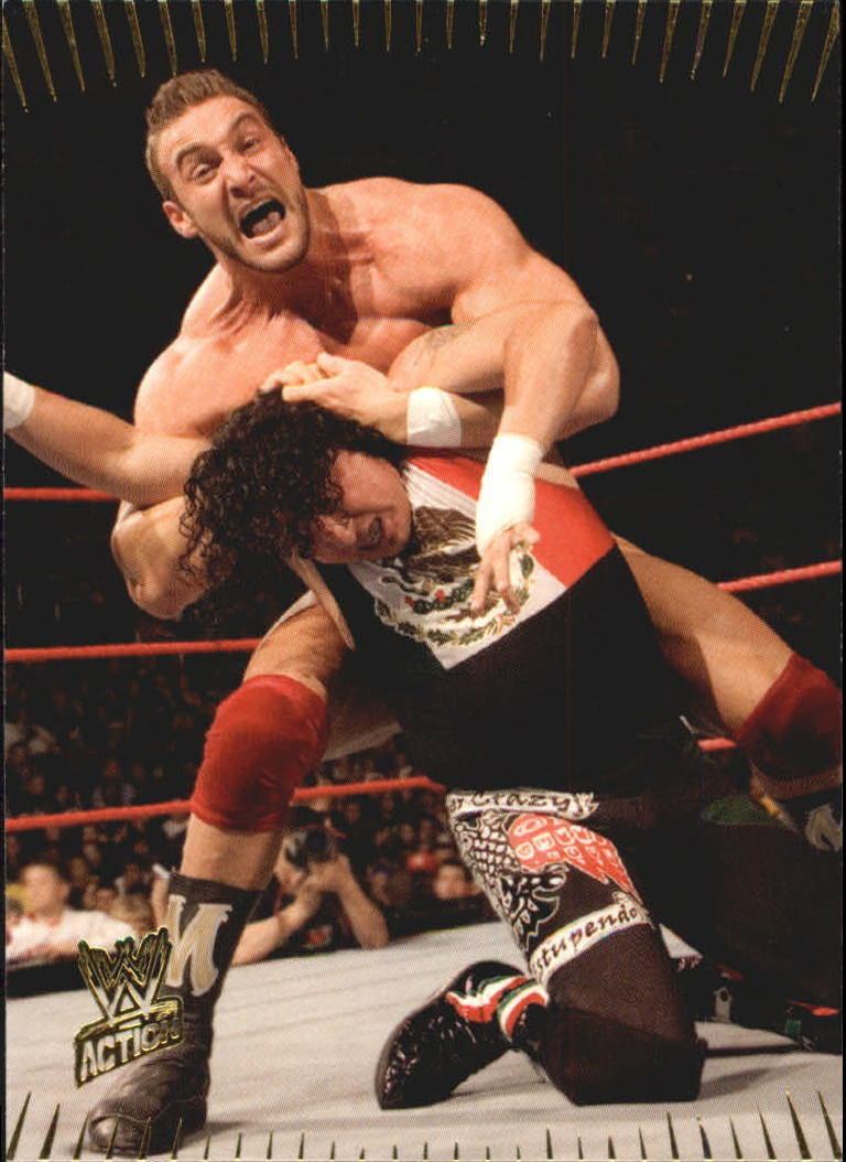 2007 Topps Action WWE #4 Chris Masters