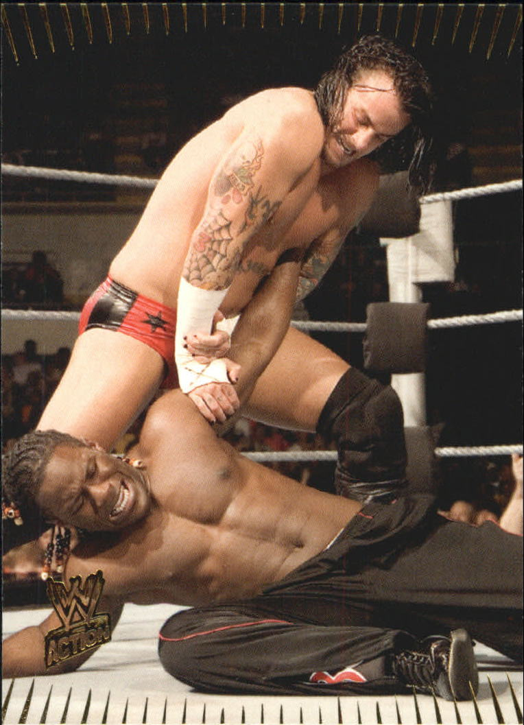 2007 Topps Action WWE #53 CM Punk