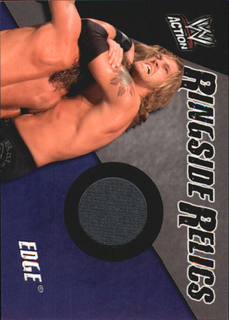 2007 Topps Action WWE Memorabilia #2 Edge