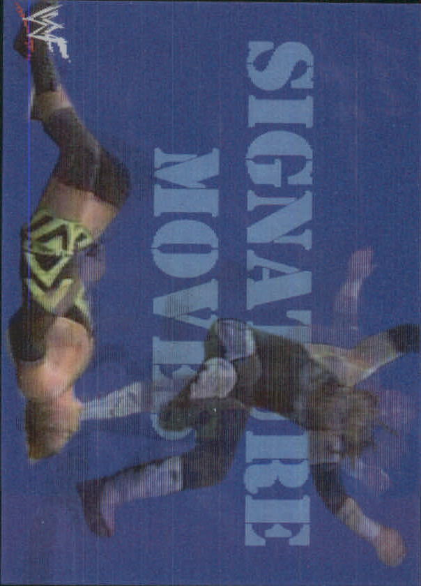 1999 Artbox WWF MotionCardz #5 Road Dogg SM