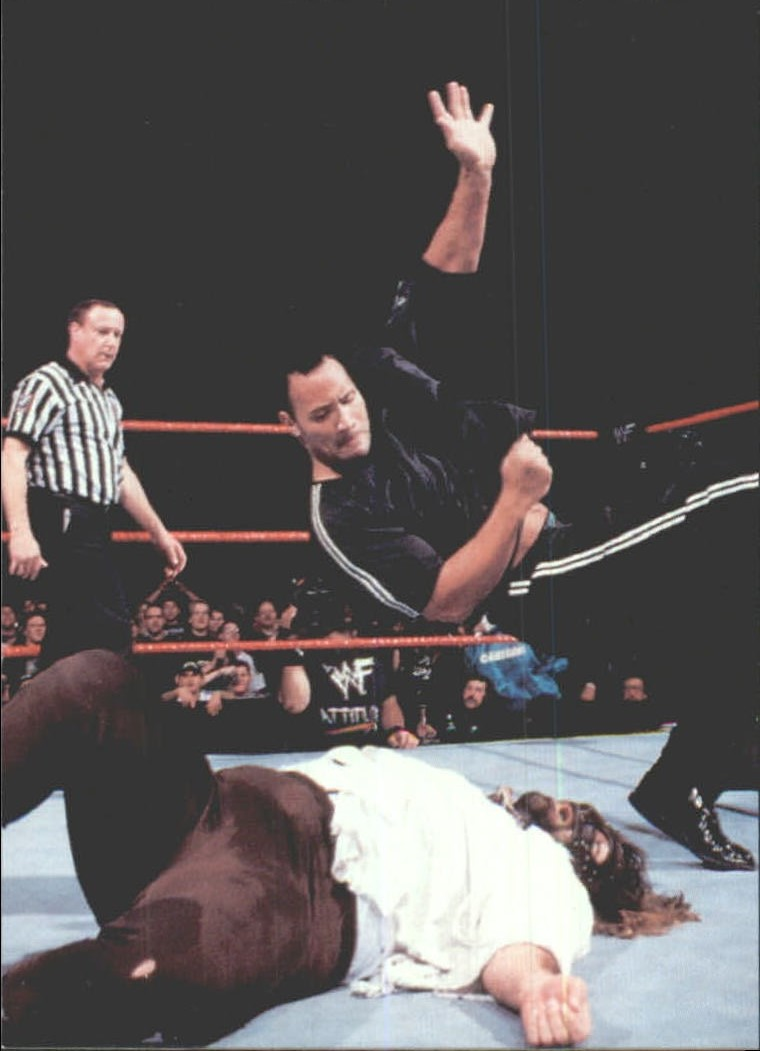 1999 Comic Images WWF Smackdown #3 The Rock
