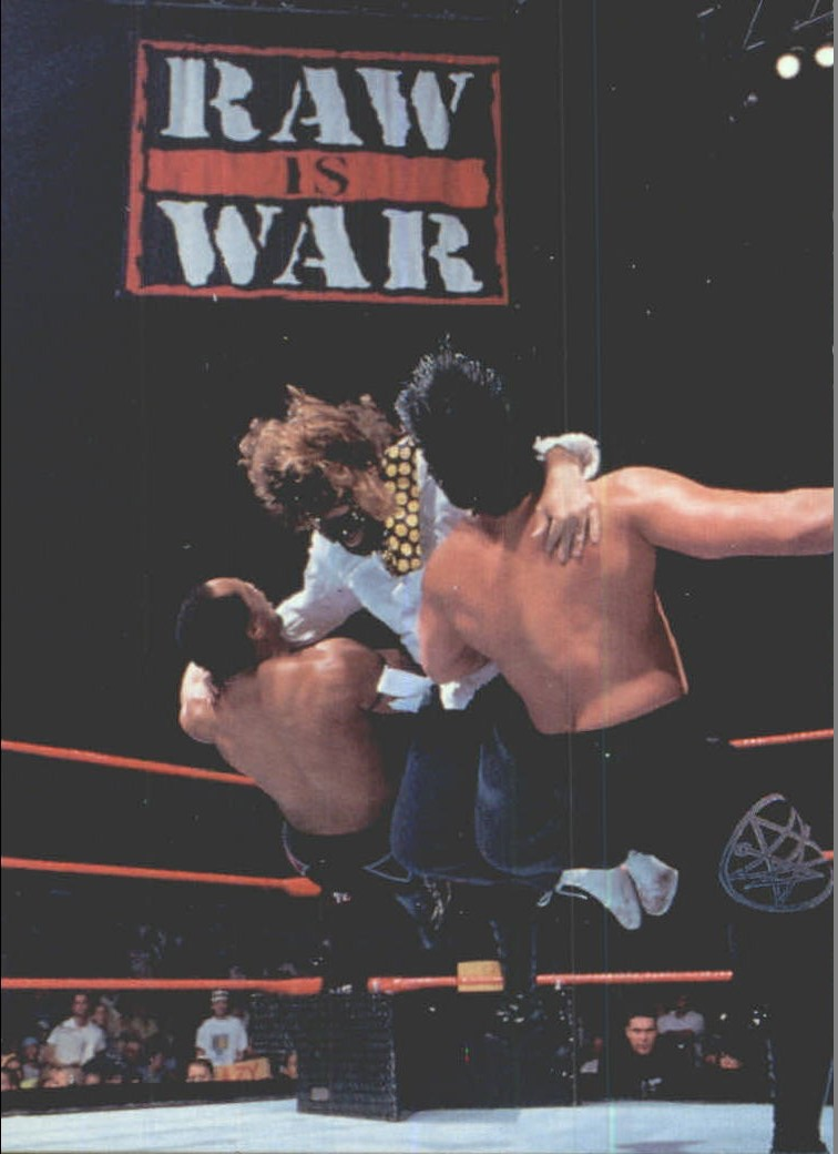 1999 Comic Images WWF Smackdown #5 Mankind