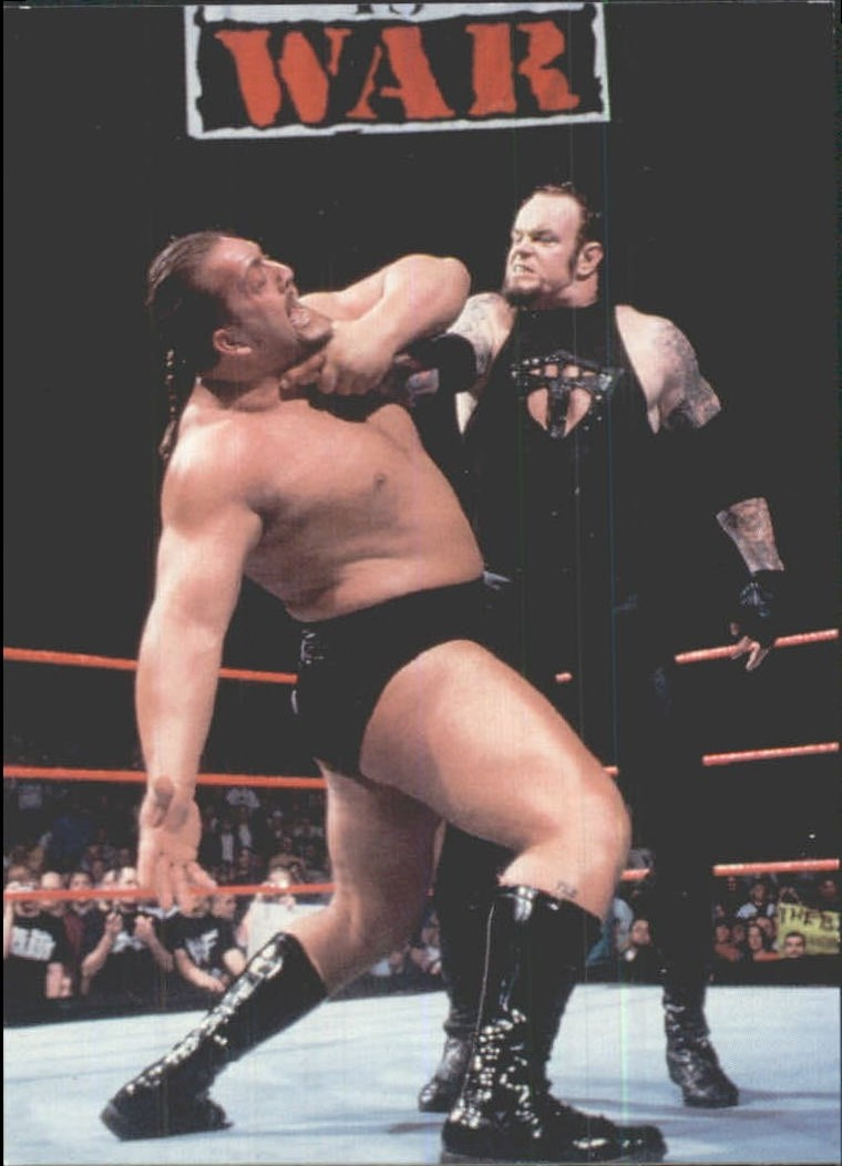 1999 Comic Images WWF Smackdown #6 The Undertaker