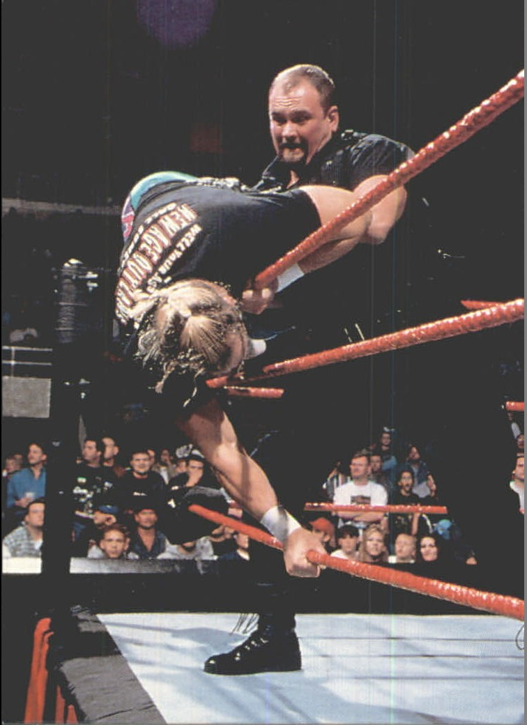 1999 Comic Images WWF Smackdown #12 Big Boss Man