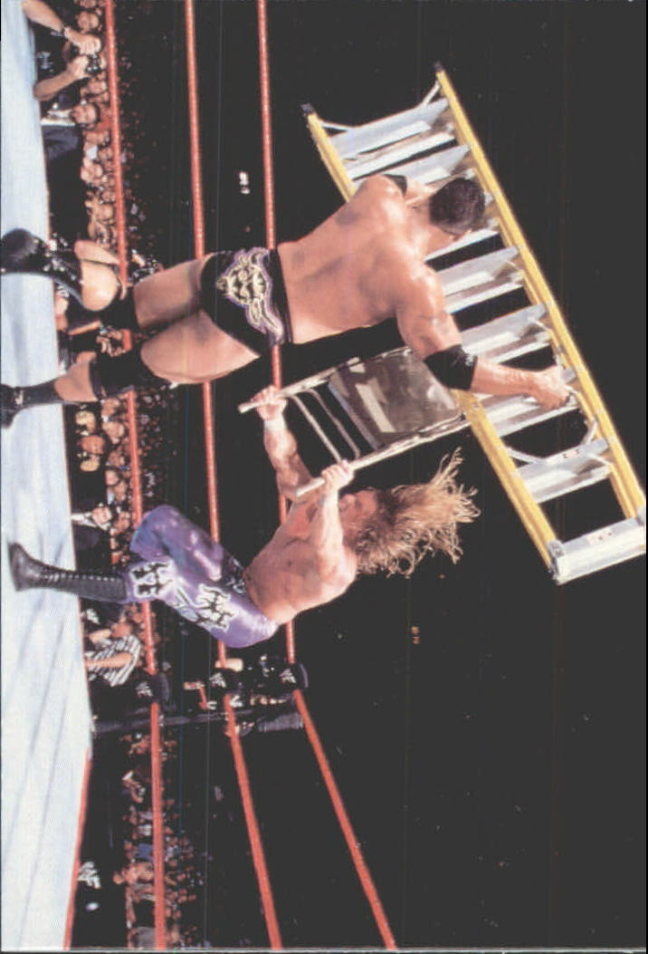 1999 Comic Images WWF Smackdown #54 The Rock/Triple H