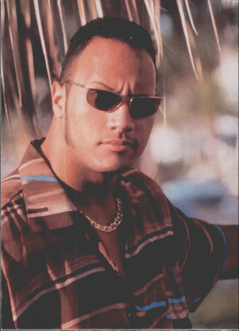 1999 Comic Images WWF Smackdown #68 The Rock