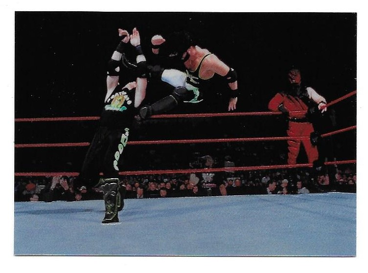 1999 Comic Images WWF Smackdown Chrome Inserts #C3 X-Pac/Kane