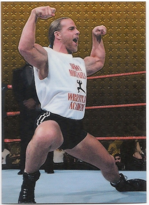 1999 Comic Images WWF Smackdown Chromium #29 Shawn Michaels