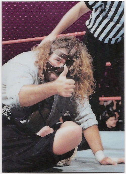 1999 Comic Images WWF Smackdown Chromium #46 Mankind