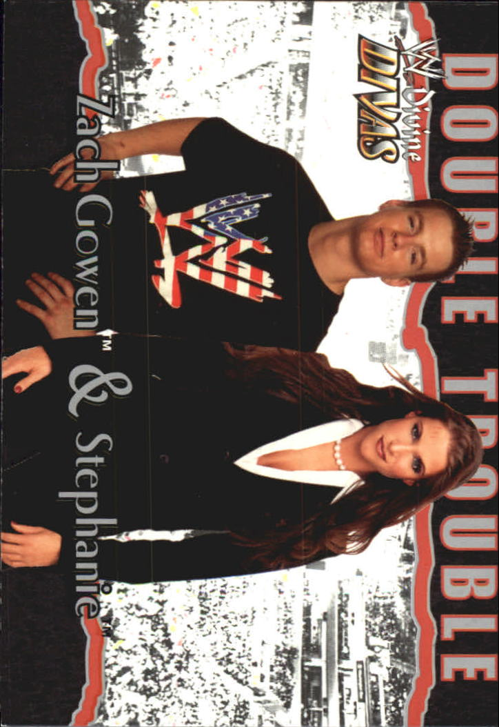 2003 Fleer WWE Divine Divas #90 Zach Gowen/Stephanie DT