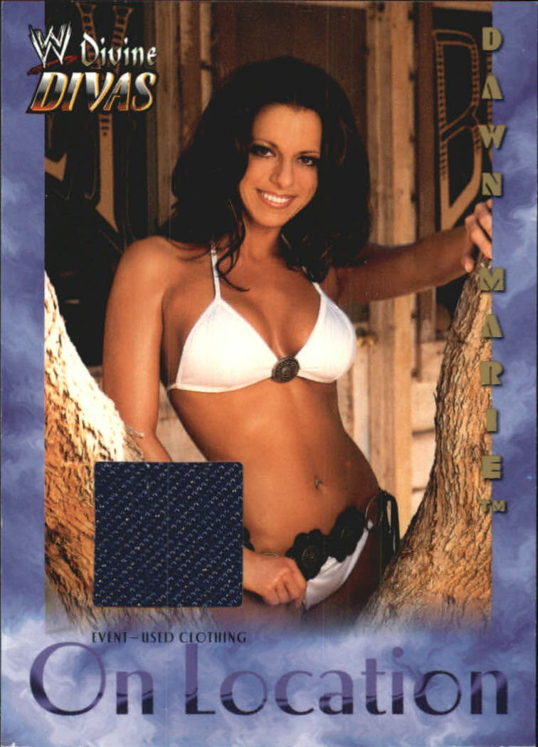 2003 Fleer WWE Divine Divas On Location Memorabilia #1 Dawn Marie