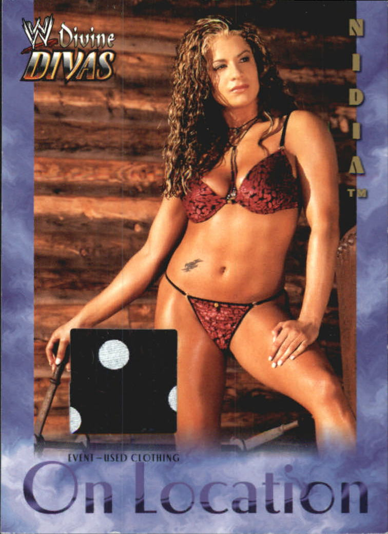 2003 Fleer WWE Divine Divas On Location Memorabilia #5 Nidia