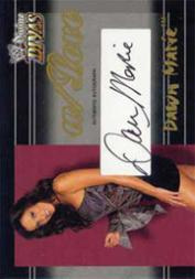 2003 Fleer WWE Divine Divas With Love Autographs #1 Dawn Marie