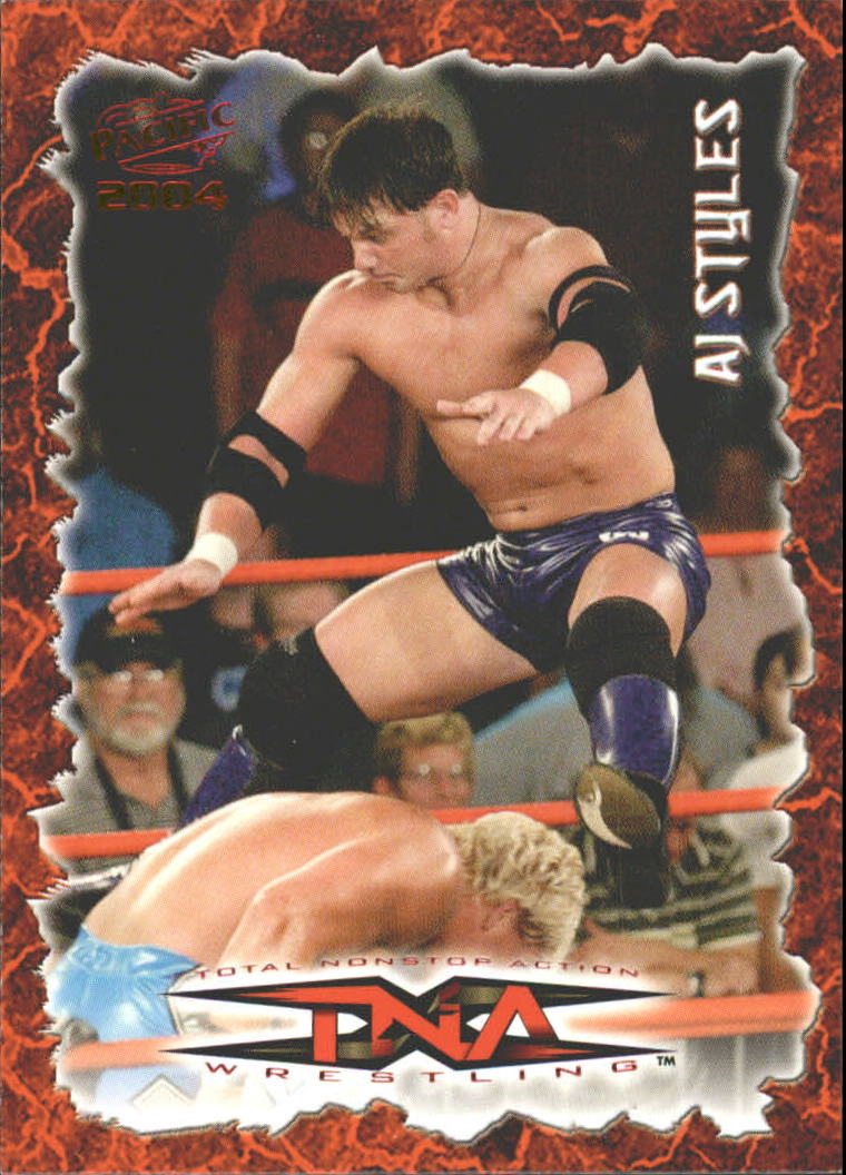 2004 Pacific TNA Red #47 AJ Styles