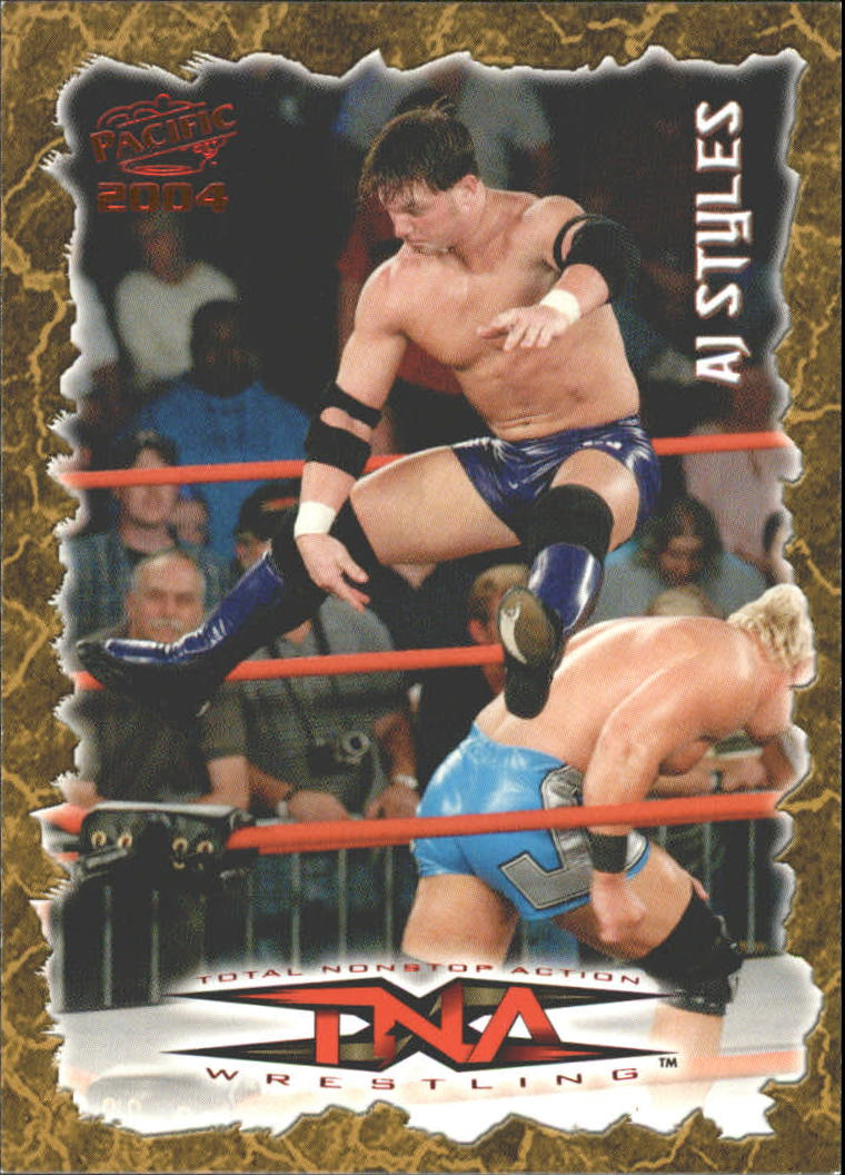 2004 Pacific TNA Red #71 AJ Styles