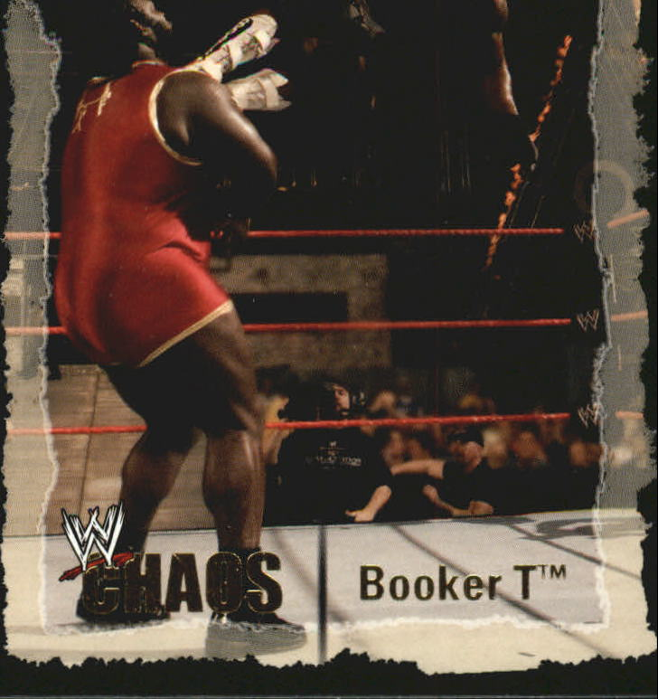 2004 Fleer WWE Chaos #13 Booker T