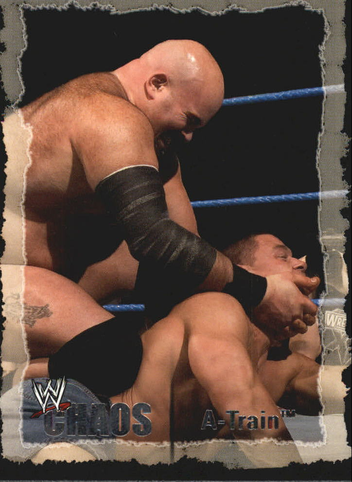 2004 Fleer WWE Chaos #33 A-Train