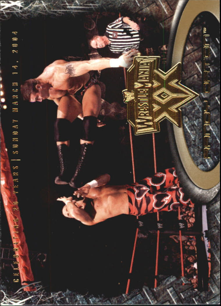2004 Fleer WWE WrestleMania XX Gold #50 Randy Orton