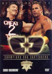 2004 Fleer WWE WrestleMania XX Champions And Contenders #6 Guerrero/Test
