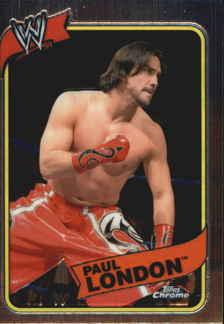 2008 Topps Heritage III Chrome WWE #50 Paul London