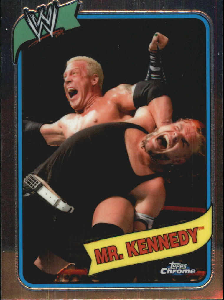 2008 Topps Heritage III Chrome WWE #51 Mr. Kennedy