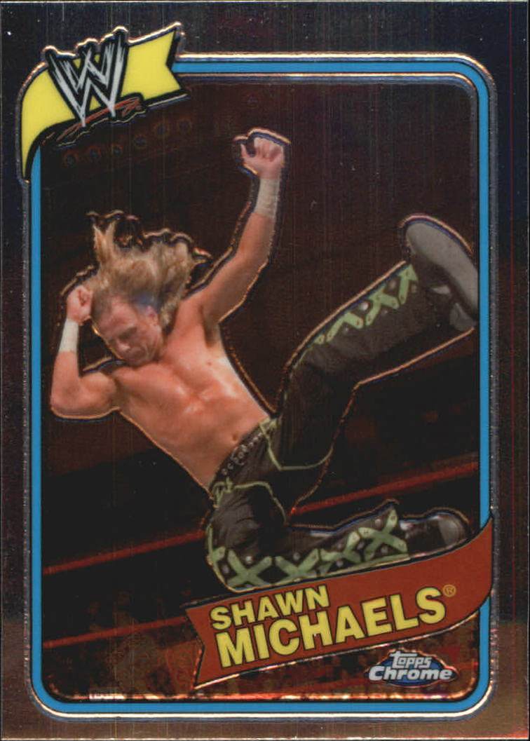 2008 Topps Heritage III Chrome WWE #54 Shawn Michaels