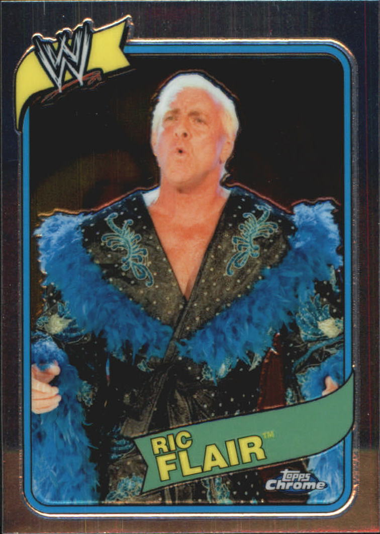 2008 Topps Heritage III Chrome WWE #56 Ric Flair