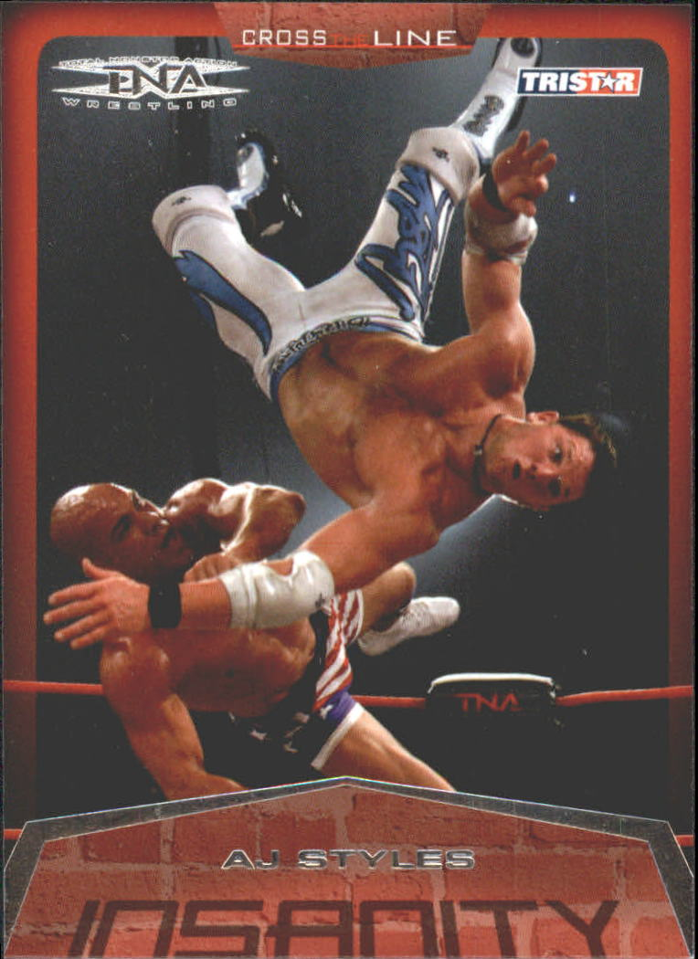 2008 TriStar TNA Cross The Line #1 A.J. Styles