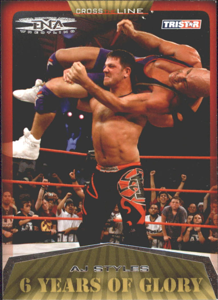2008 TriStar TNA Cross The Line #20 A.J. Styles