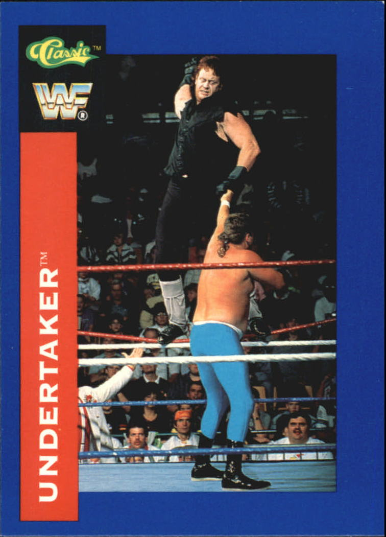 1991 Classic WWF Superstars #88 Undertaker