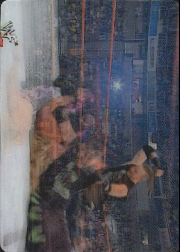 2001 Artbox WWF MotionCardz #9 Jesse James/Chris Jericho