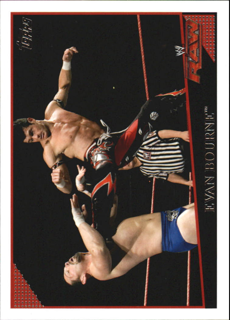 2009 Topps WWE #15 Evan Bourne