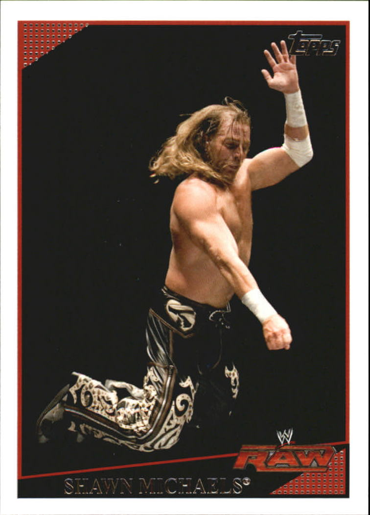 2009 Topps WWE #60 Shawn Michaels