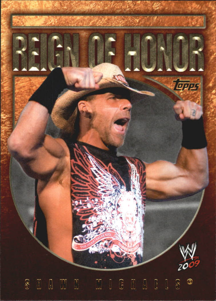 2009 Topps WWE Reign of Honor #9 Shawn Michaels