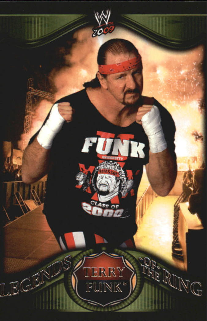 2009 Topps WWE Legends of the Ring #16 Terry Funk