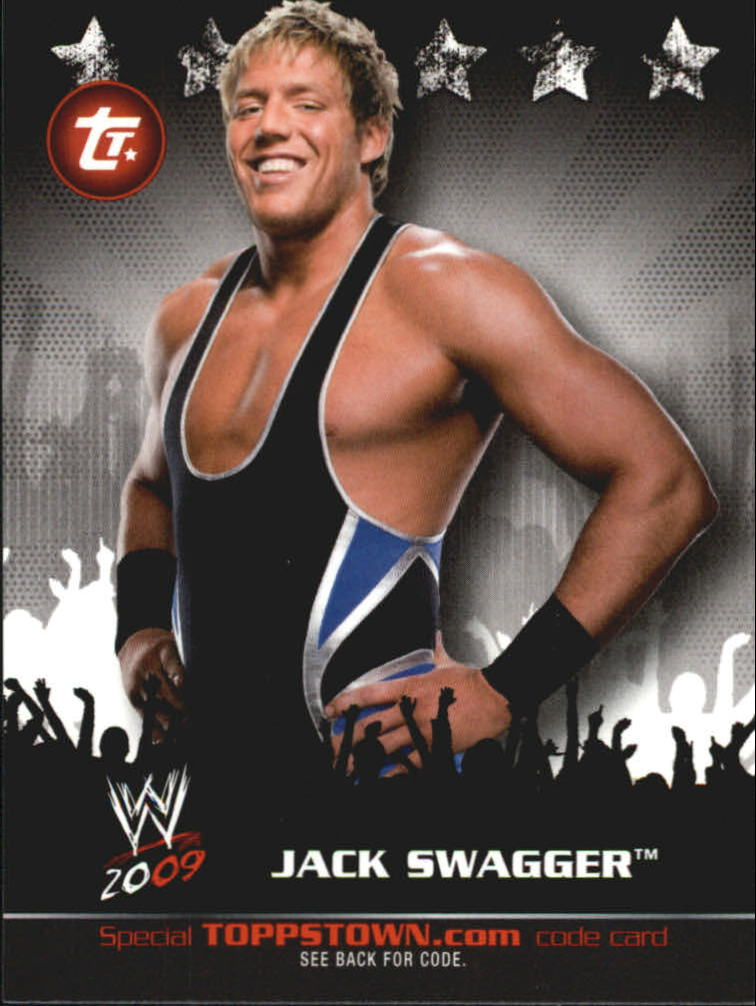 2009 Topps WWE Topps Town #11 Jack Swagger