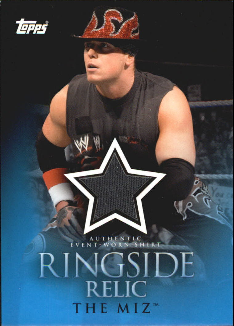 2009 Topps WWE Ringside Relics #TMH The Miz H (looking left)