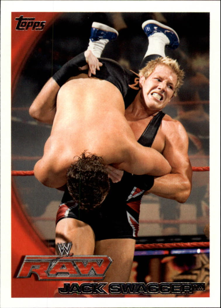 2010 Topps WWE #48 Jack Swagger