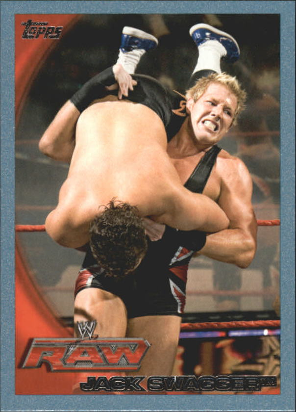2010 Topps WWE Blue #48 Jack Swagger