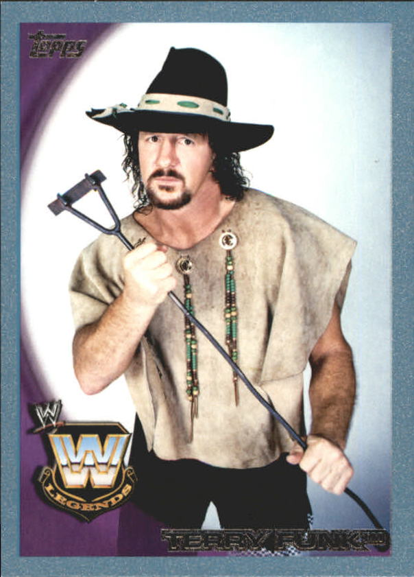 2010 Topps WWE Blue #104 Terry Funk
