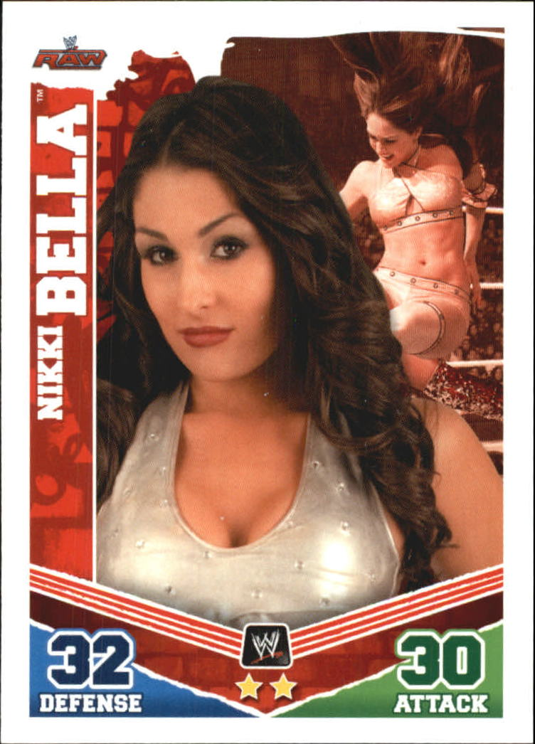 2010 Topps Slam Attax Mayhem WWE #38 Nikki Bella