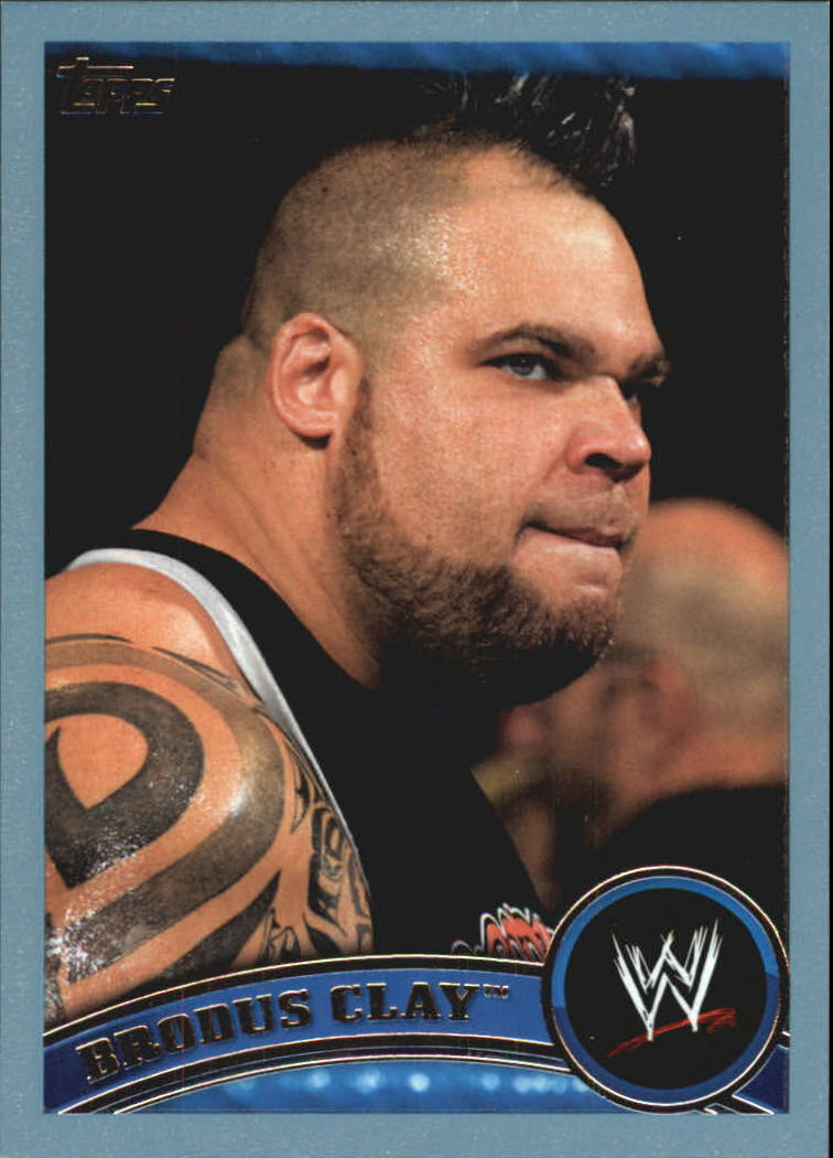 2011 Topps WWE Blue #32 Brodus Clay