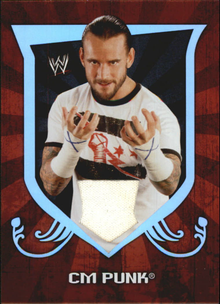 2011 Topps Classic WWE Relics #3 CM Punk