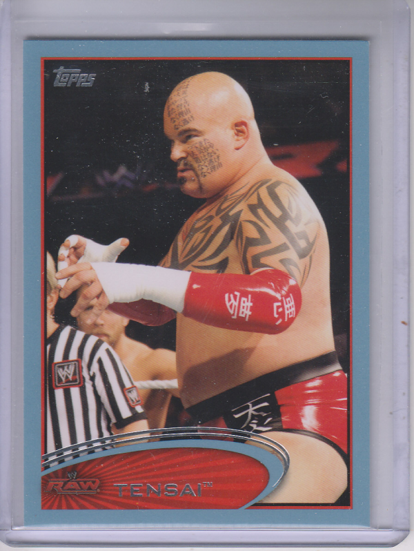 2012 Topps WWE Blue #53 Lord Tensai