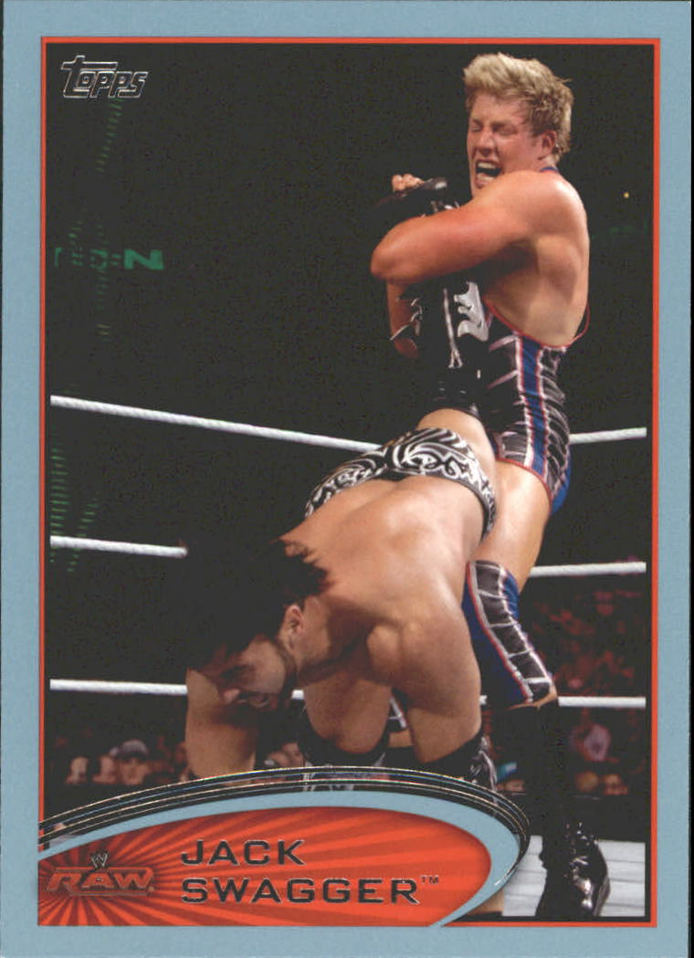 2012 Topps WWE Blue #61 Jack Swagger