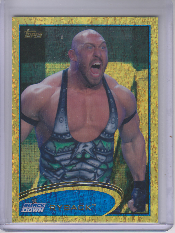 2012 Topps WWE Gold #38 Ryback