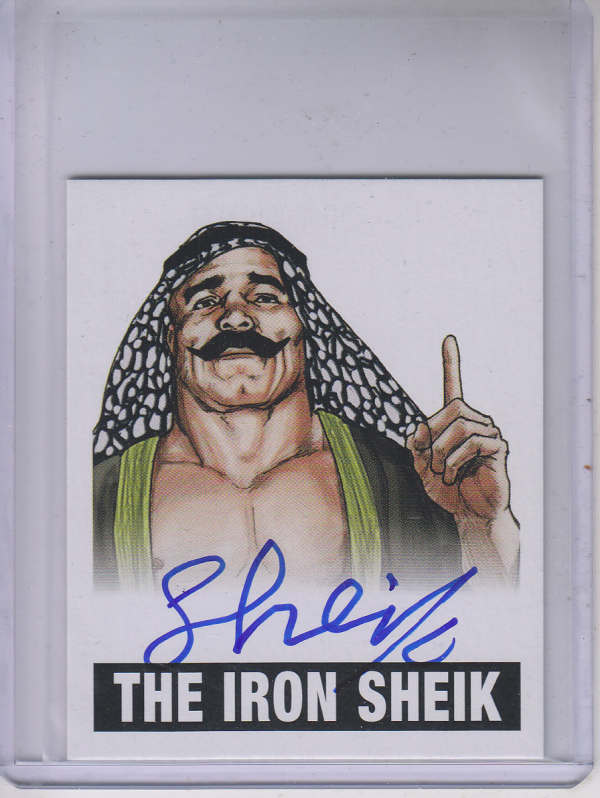 2012 Leaf Originals Wrestling #TIS Iron Sheik