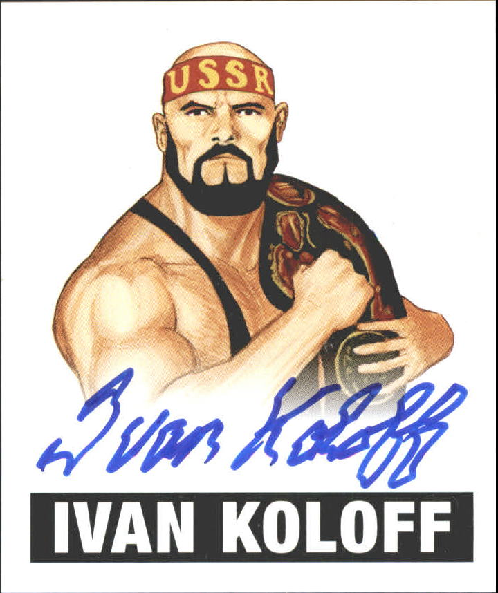 2012 Leaf Originals Wrestling #IK1 Ivan Koloff