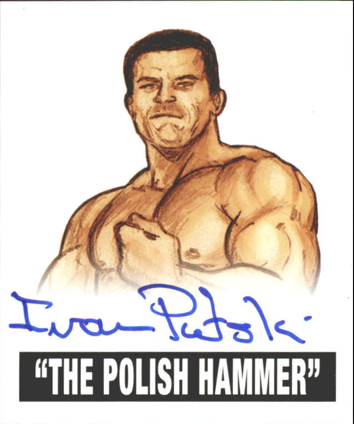 2012 Leaf Originals Wrestling #IP1 Polish Hammer Ivan Putski